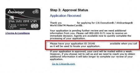 citi-application-ID