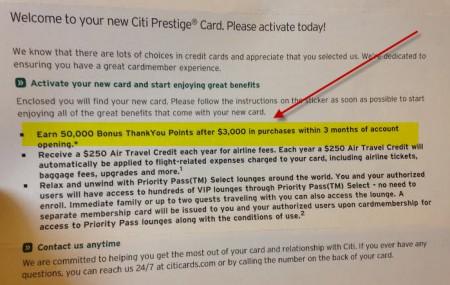 Citi-prestige-bonus-details