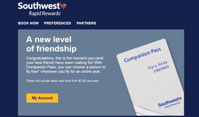 southwest-email